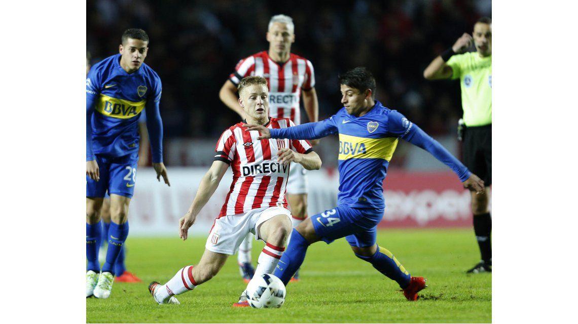 Boca puso suplentes y Estudiantes no lo perdonó en La Plata