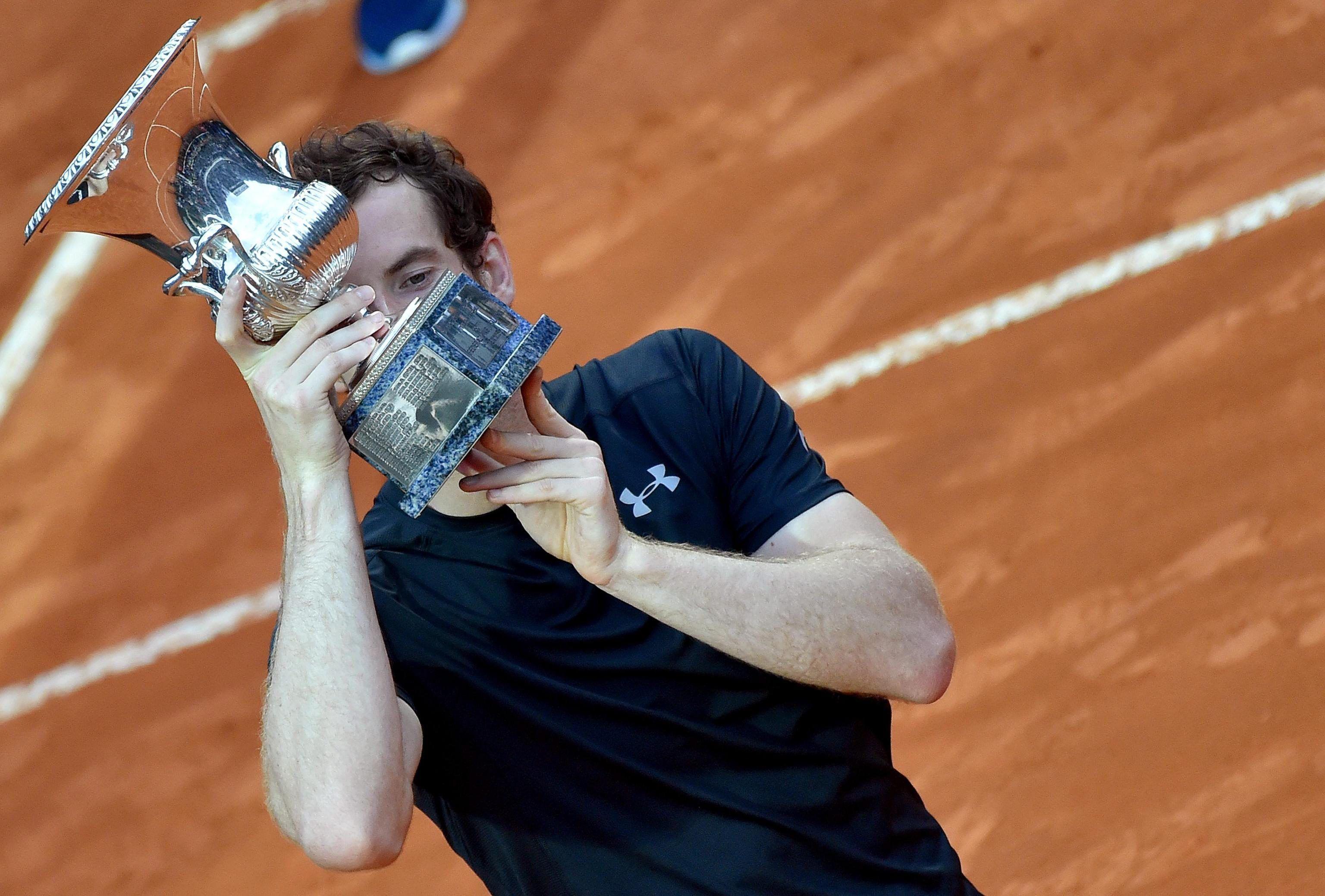 Murray destronó a Federer y llegó al segundo puesto del ranking