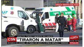 Mataron a un custodio a balazos e hirieron a otro en Lanús