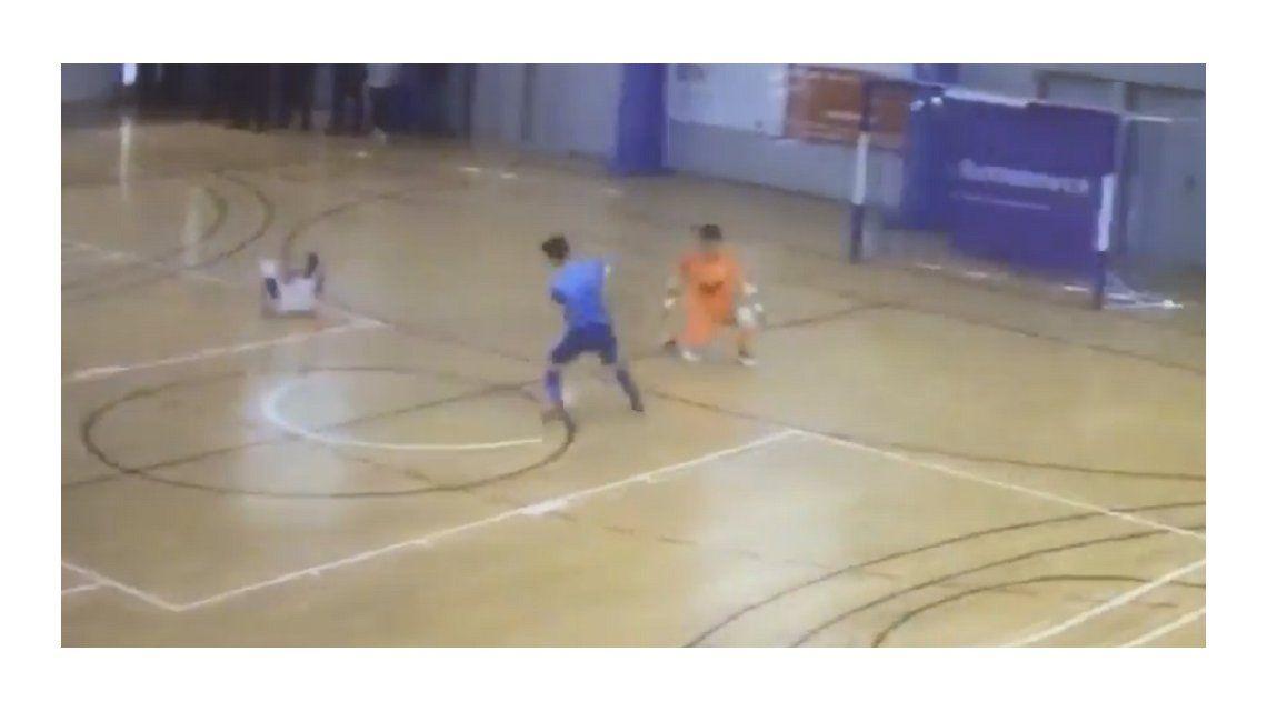 Un enorme gesto de solidaridad revolucionó el futsal de España
