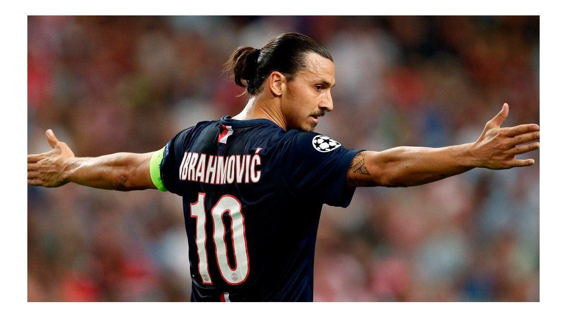 El sueco Zlatan Ibrahimovic confirmó que jugará en el Manchester United