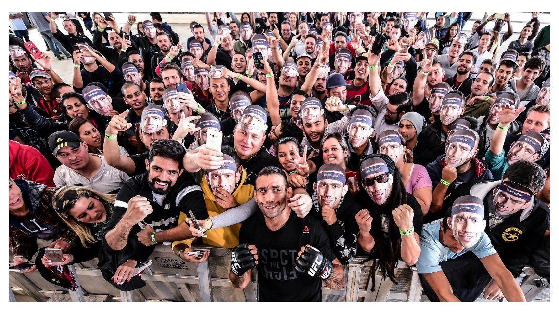 La UFC revoluciona Brasil: un estadio de fútbol se vestirá de octágono