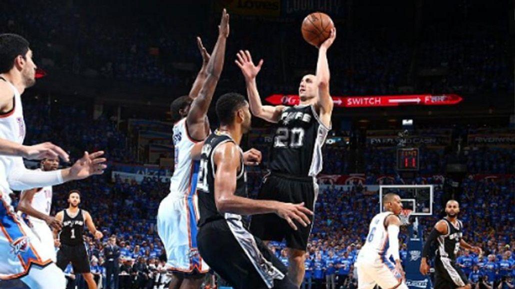Chau ilusión: los Spurs de Manu quedaron afuera de los playoff ante Oklahoma