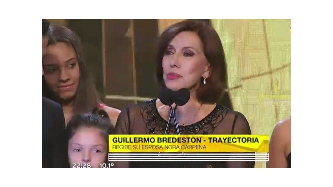 VIDEO: El emotivo homenaje a Guillermo Bredeston durante los Martín Fierro