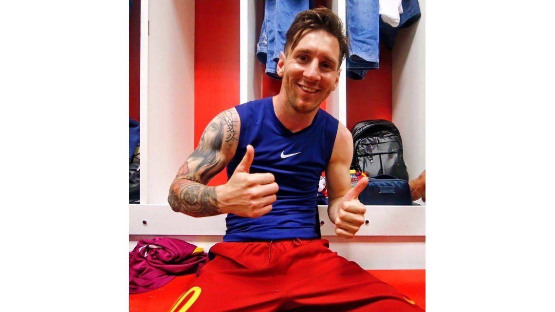 El mensaje de Lionel Messi a los hinchas tras un nuevo título del Barcelona