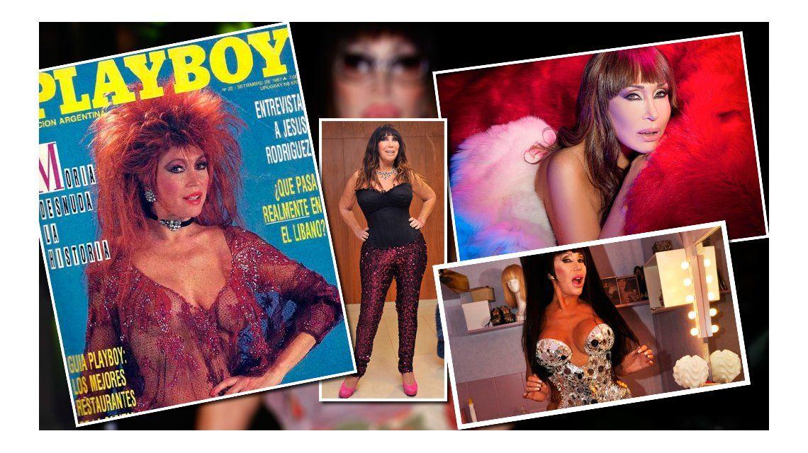 A casi 30 años, Moria Casán volvió a ser tapa de Playboy Argentina