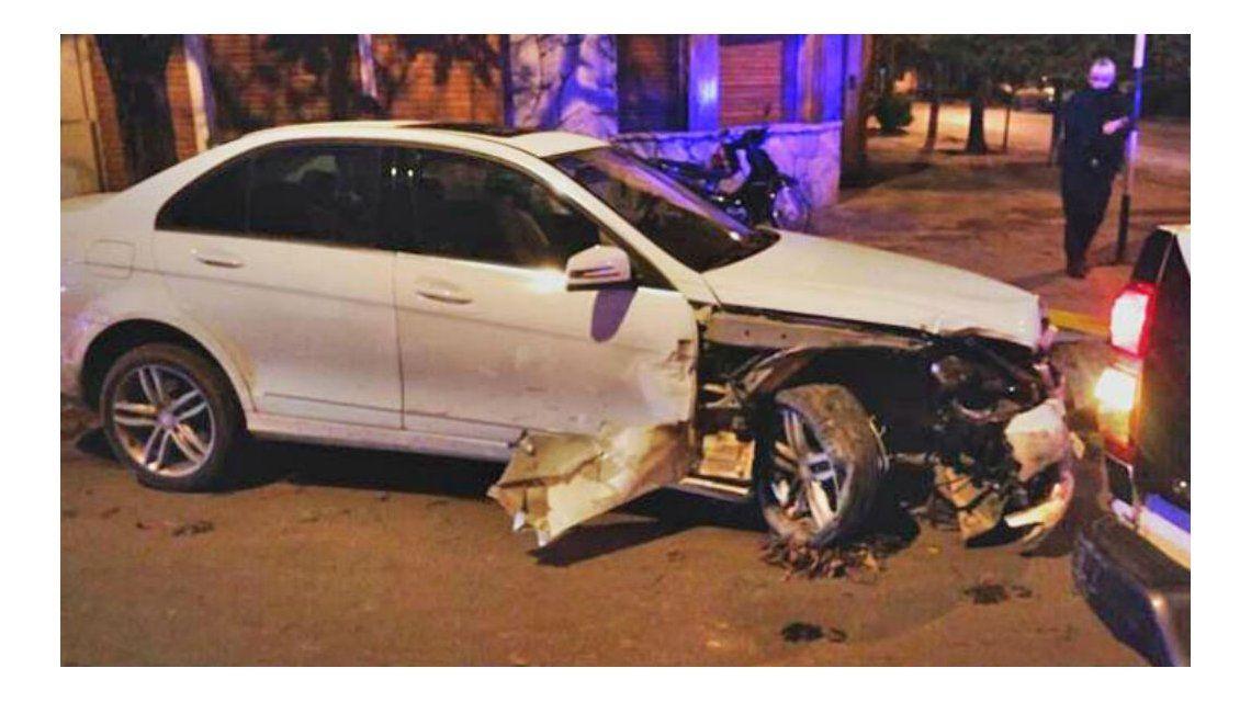 A lo Chano: el video del ex funcionario que chocó cuatro autos estacionados