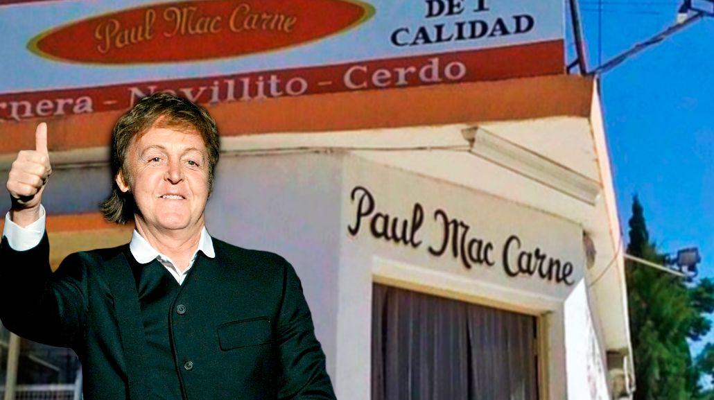 El carnicero que hizo reír a Paul McCartney venderá chorizos veganos en el recital