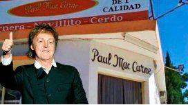Carnicero que hizo reír a McCartney venderá chorizos en su recital