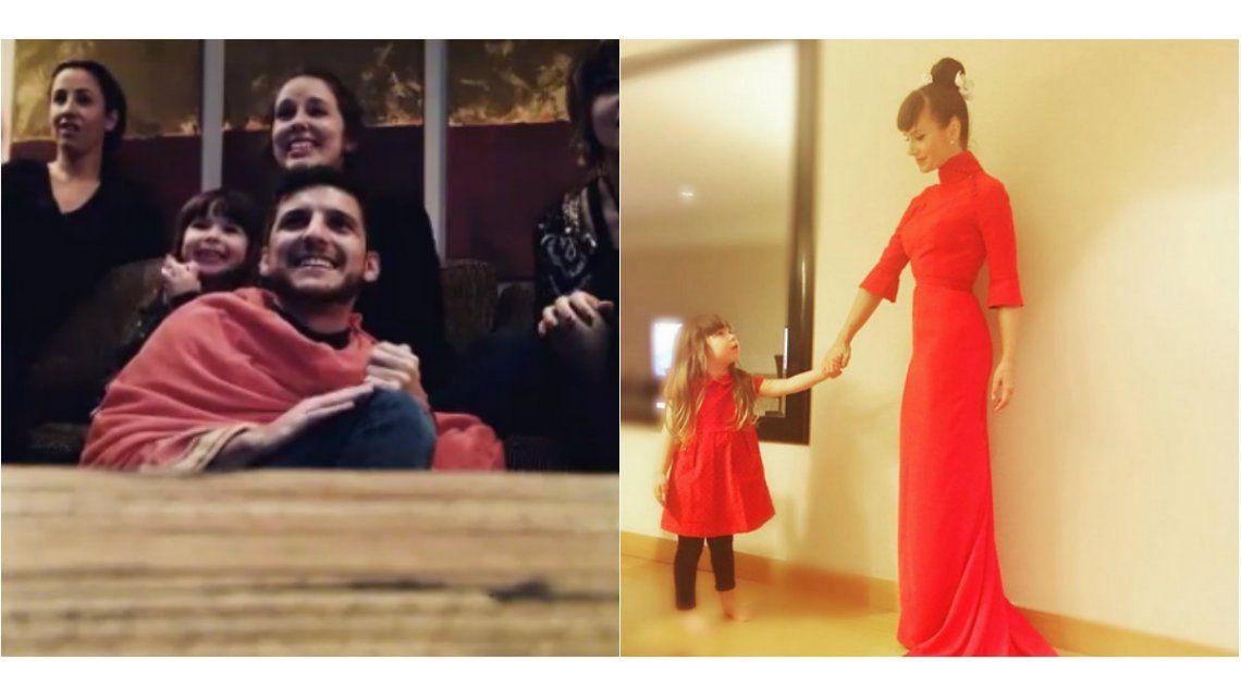 El video de Margarita Suar festejando el premio de Leticia Siciliani