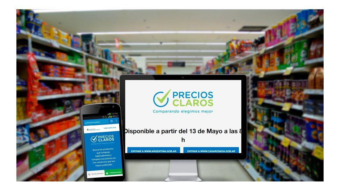 Paso a paso, cómo funciona el sitio para comparar precios en supermercados