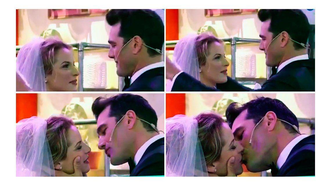 La falsa boda de Carina Zampini y Hernán Drago