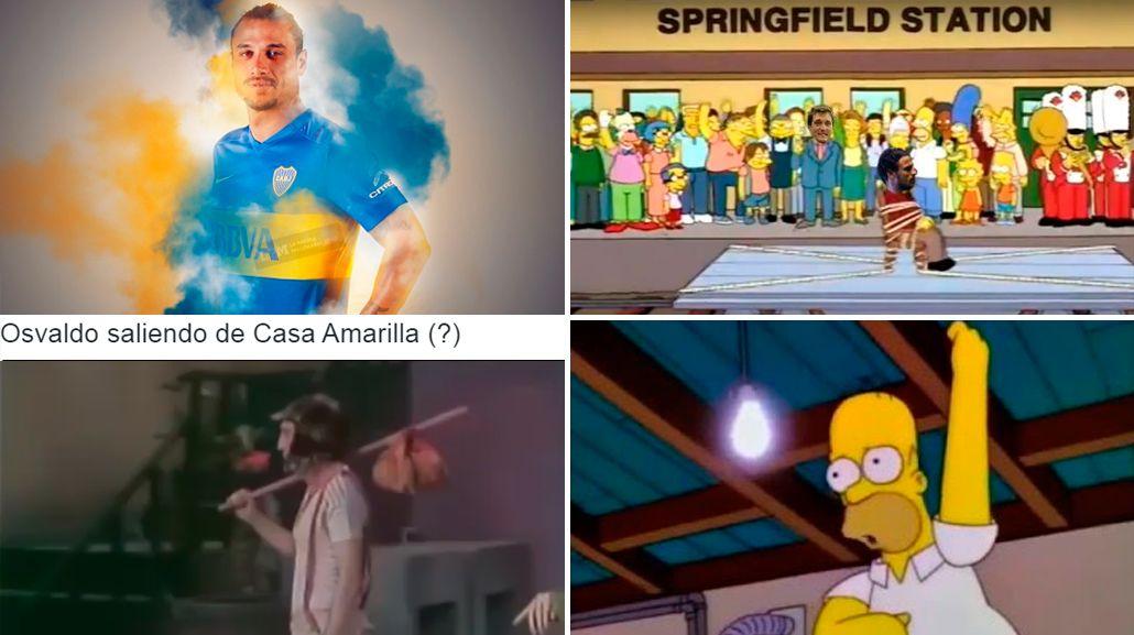 Infaltables: echaron a Osvaldo de Boca y los memes estallaron en las redes