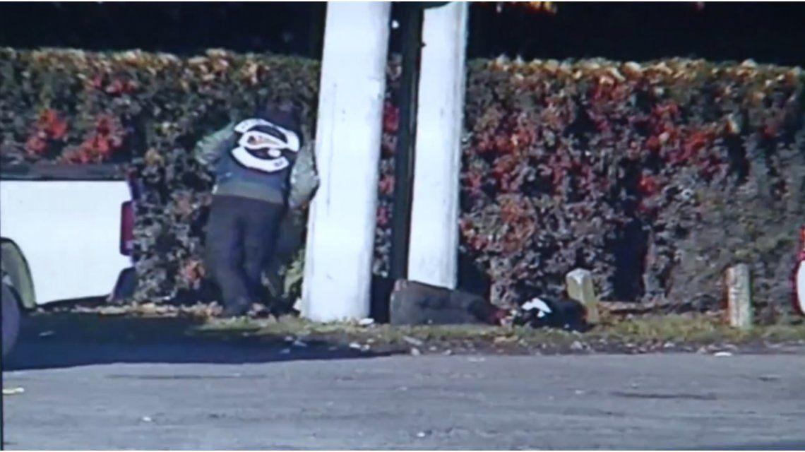 Así fueron los primeros momentos luego del tiroteo entre motoqueros en Luján