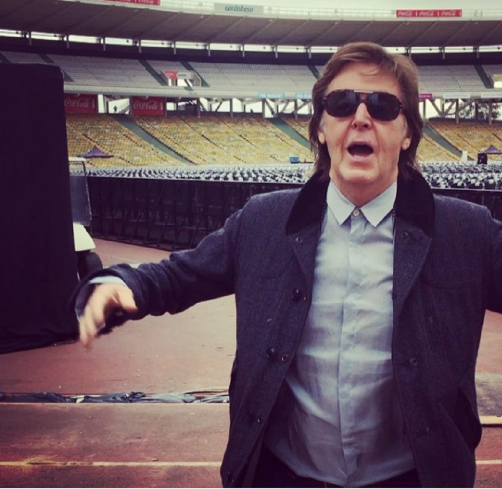 Video: Paul McCartney ya está en Argentina