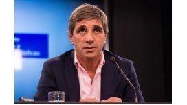 Luis Caputo, Ministro de Finanzas