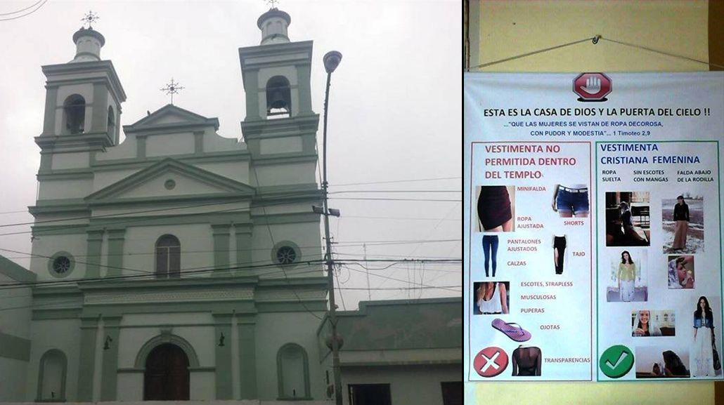 Un polémico sacerdote prohibe que mujeres y niñas usen jeans o calzas