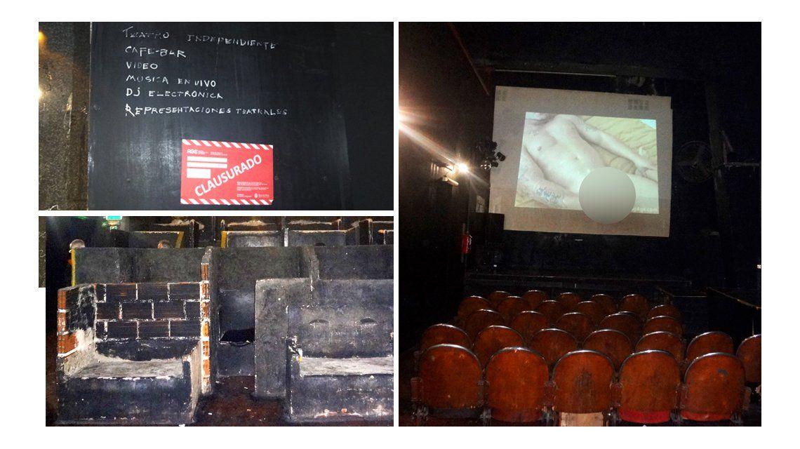 FOTOS: Así funcionaba un cine para adultos en pleno centro porteño