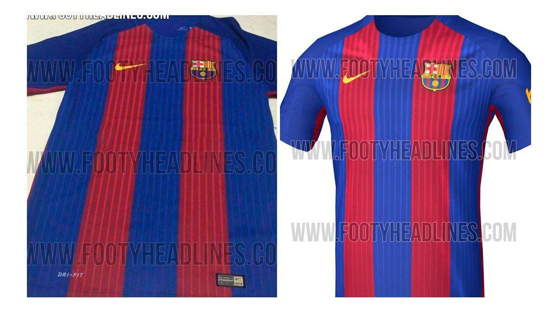 Así será la nueva camiseta del Barcelona para la próxima temporada