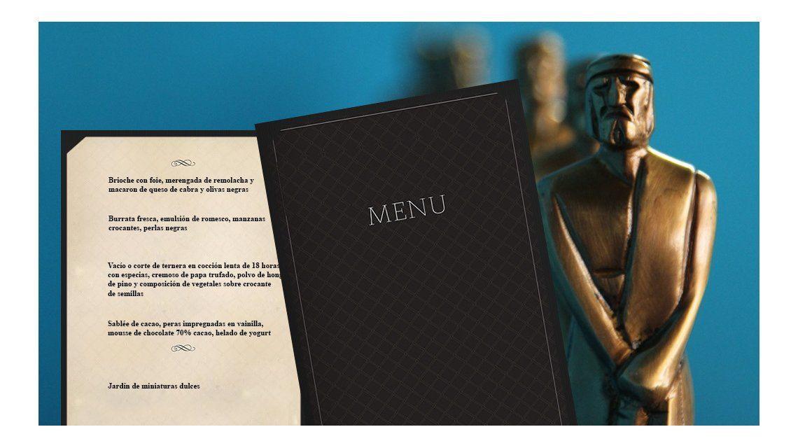 ¿Qué comerán los famosos en los Martín Fierro? Mirá el menú