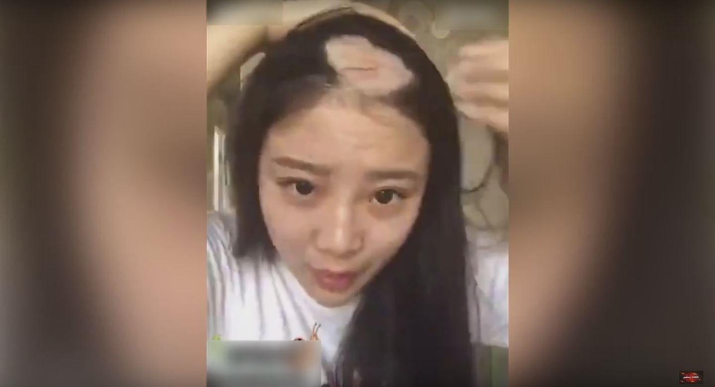 VIDEO: Se arrancó el pelo haciendo un desafío viral