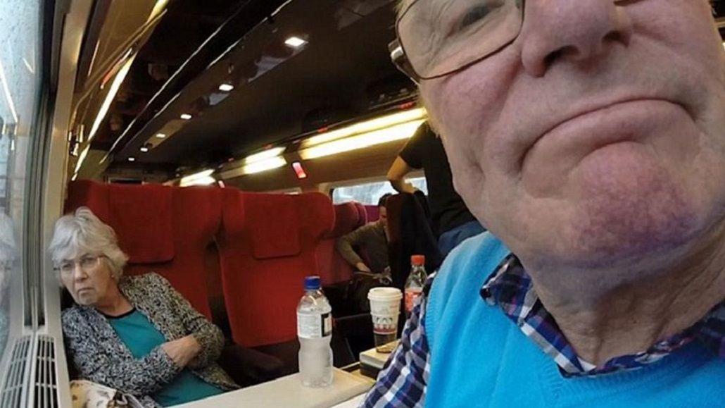 Se llevó la GoPro de su hijo y por error grabó todas las vacaciones en modo selfie