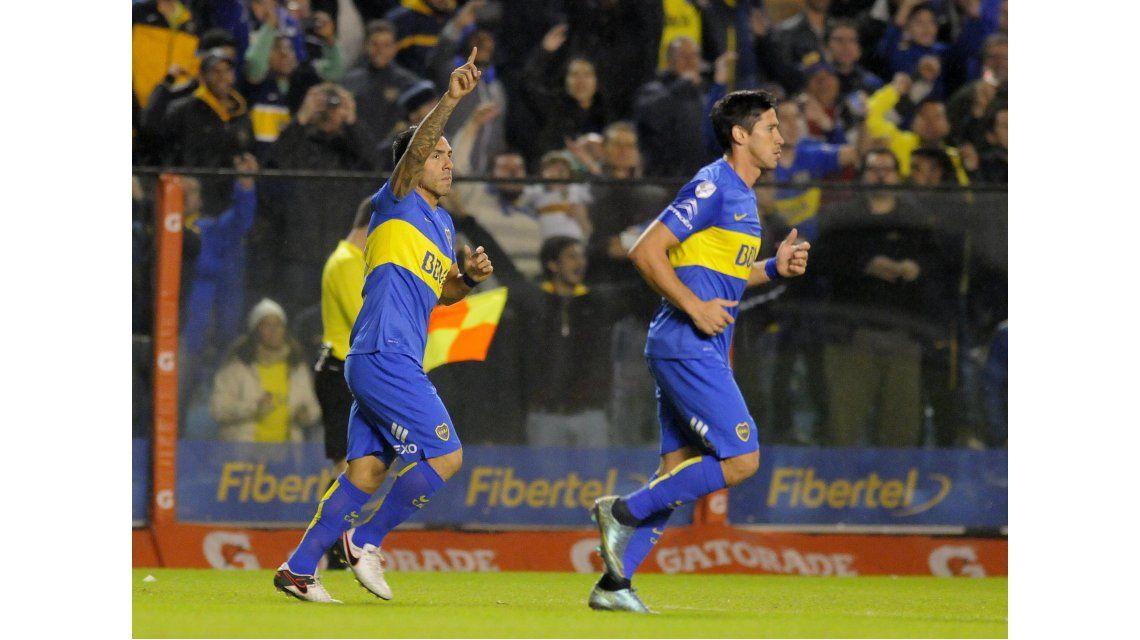 Las fotos del triunfo de Boca ante Cerro Porteño