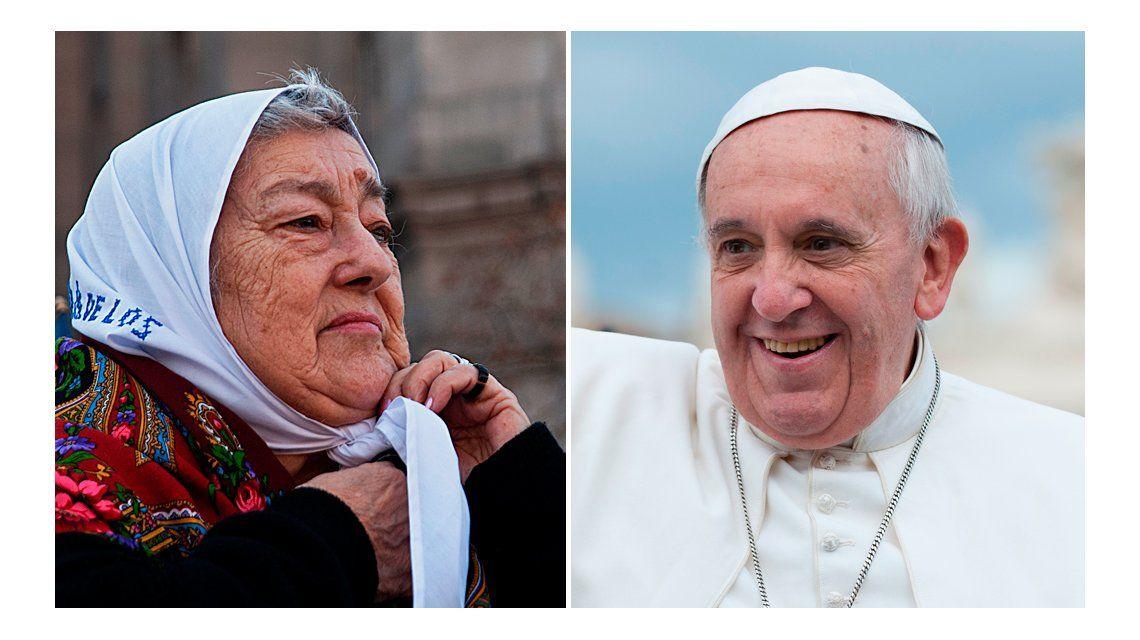 Hebe: Hace tiempo que tengo comunicación con el Papa