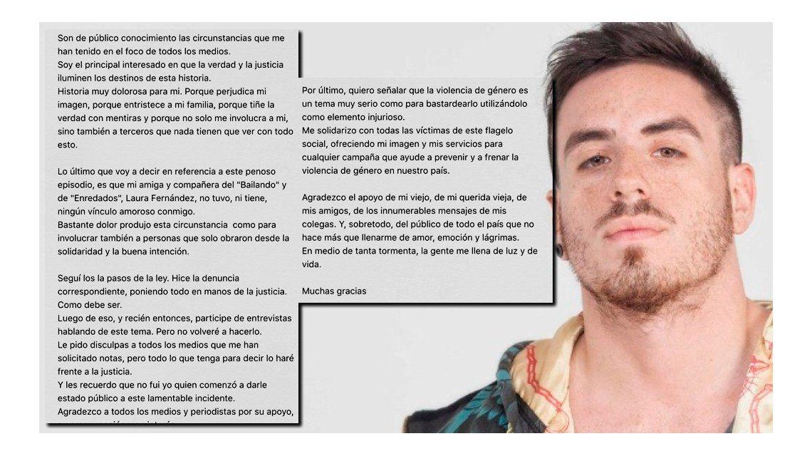 Federico Bal: Laura Fernández no tuvo ni tiene ningún vínculo amoroso conmigo