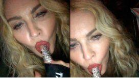 El polémico video de Madonna en el que  simula hacer sexo oral