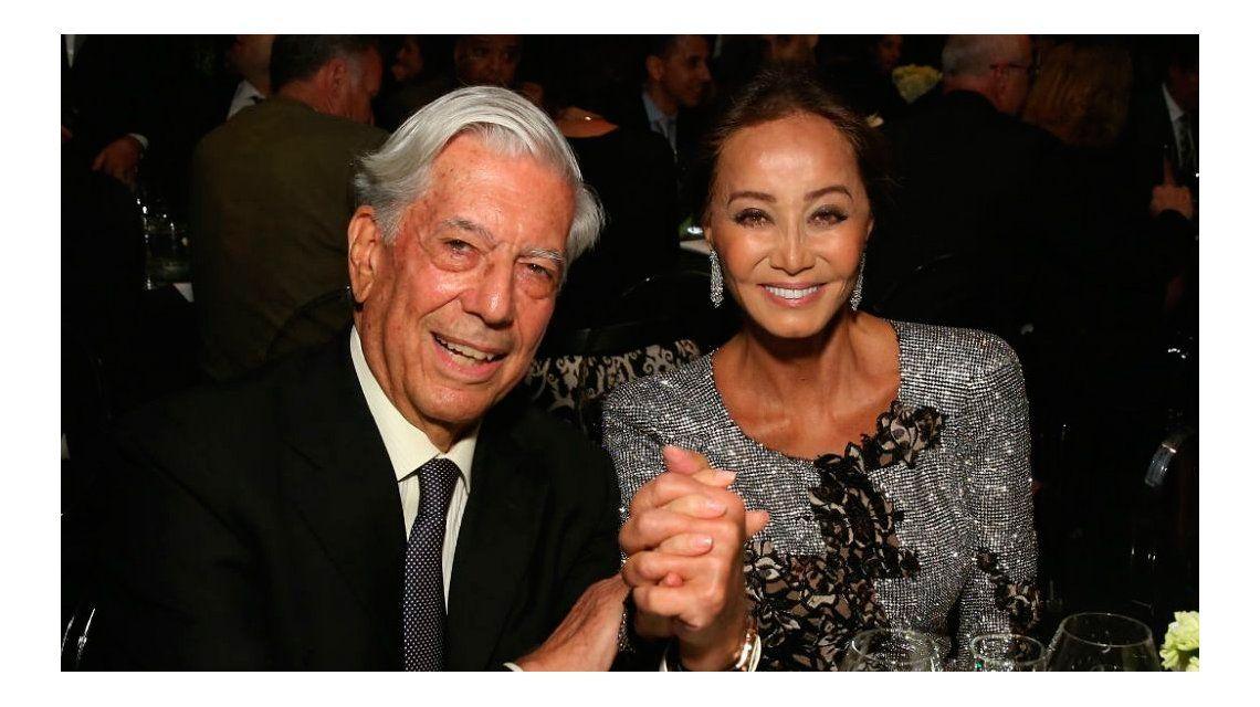Mario Vargas Llosa, de visita en Argentina con la ex de Julio Iglesias