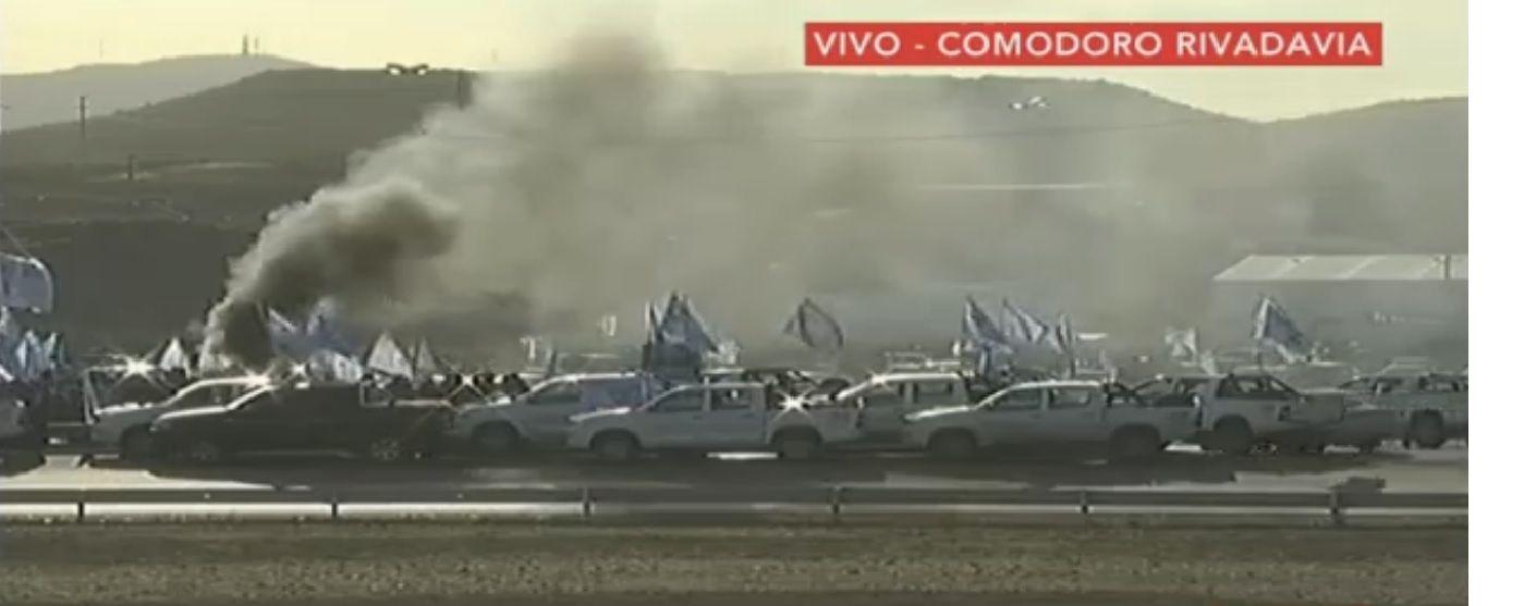 Histórica movilización de petroleros en Comodoro Rivadavia