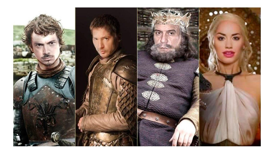Actores argentinos como protagonistas de Game of Thrones