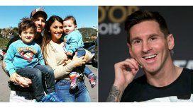 ¡Estás igual! Los hijos de Leo Messi, cada día más parecidos al futbolista