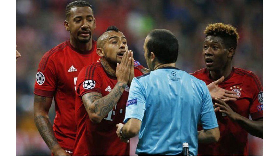 El chileno Vidal y la eliminación del Bayern: Triunfó el fútbol feo contra el mejor del mundo