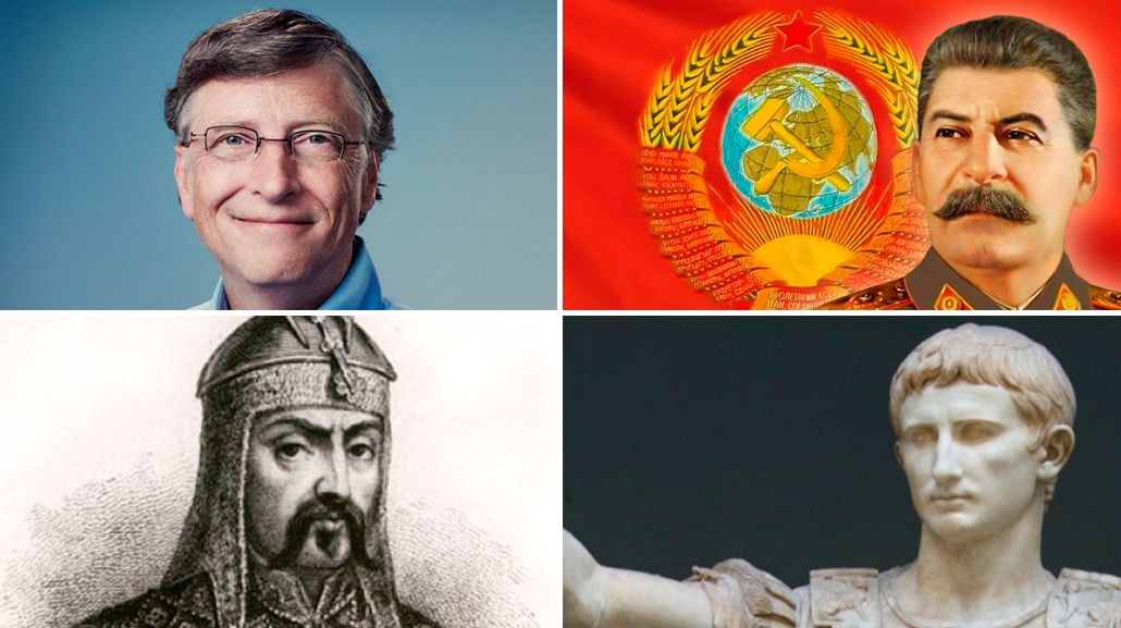 ¿Quiénes fueron las 10 personas más ricas de la historia?