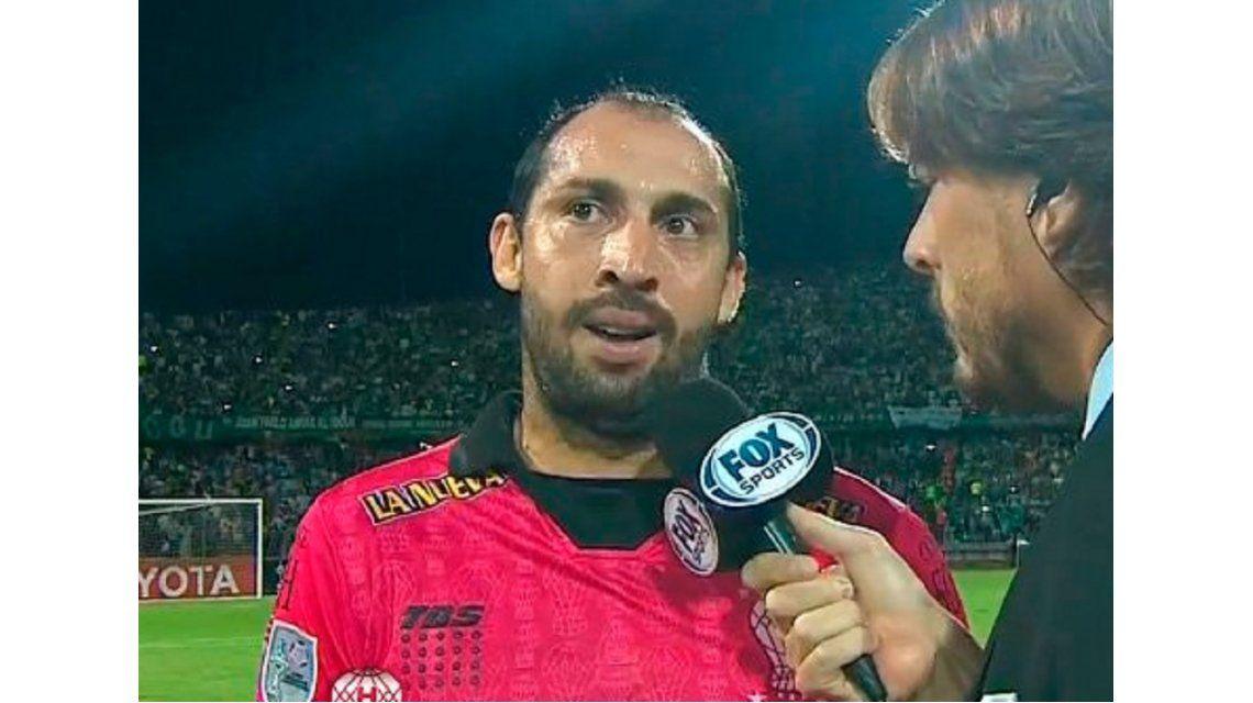 El enojo de Marcos Díaz: Es una vergüenza que el árbitro te diga cagón