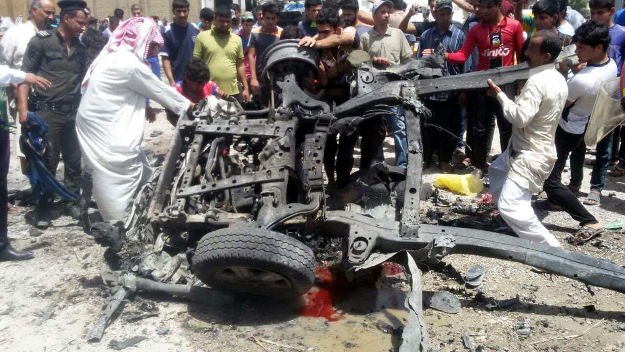 Al menos 35 muertos y 73 heridos en un doble atentado de Isis en el sur de Irak