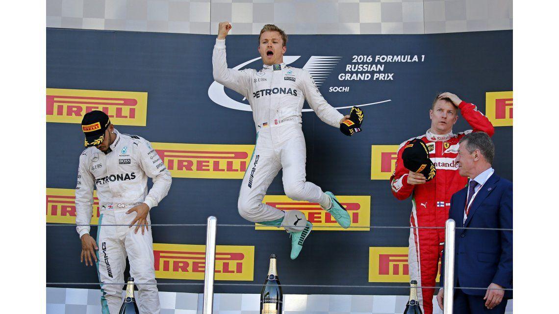 Imparable: Nico Rosberg se quedó con el Gran Premio de Rusia