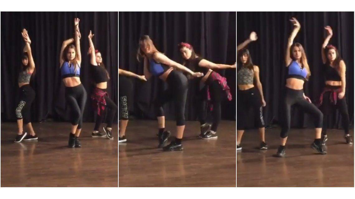 El video de la coreografía de Pampita para la apertura de Showmatch 2016