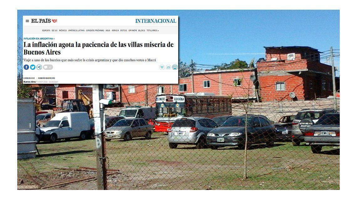 Para El País de España, Argentina tiene inflación desbocada