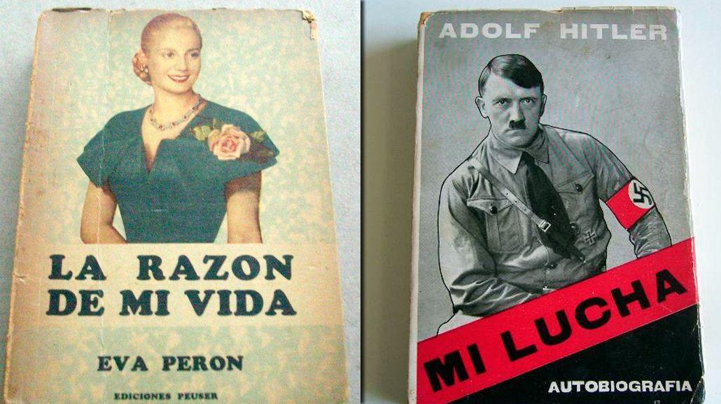 ¿Qué libros de valor histórico tenía Lázaro Báez en su biblioteca?