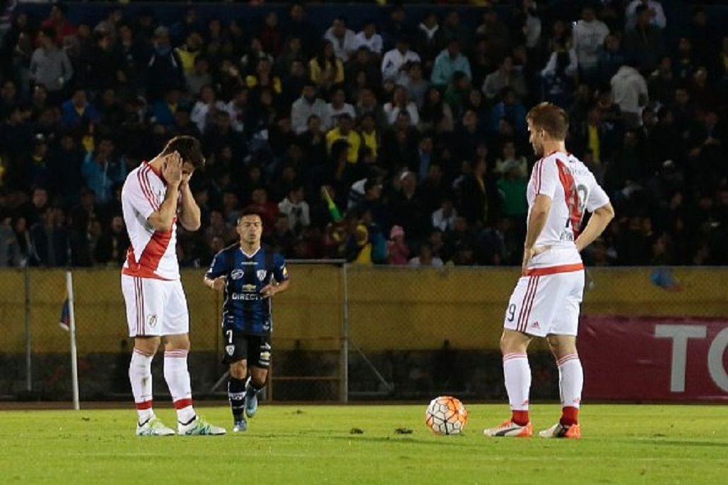 Independiente del Valle venció a River y lo complicó en la Copa