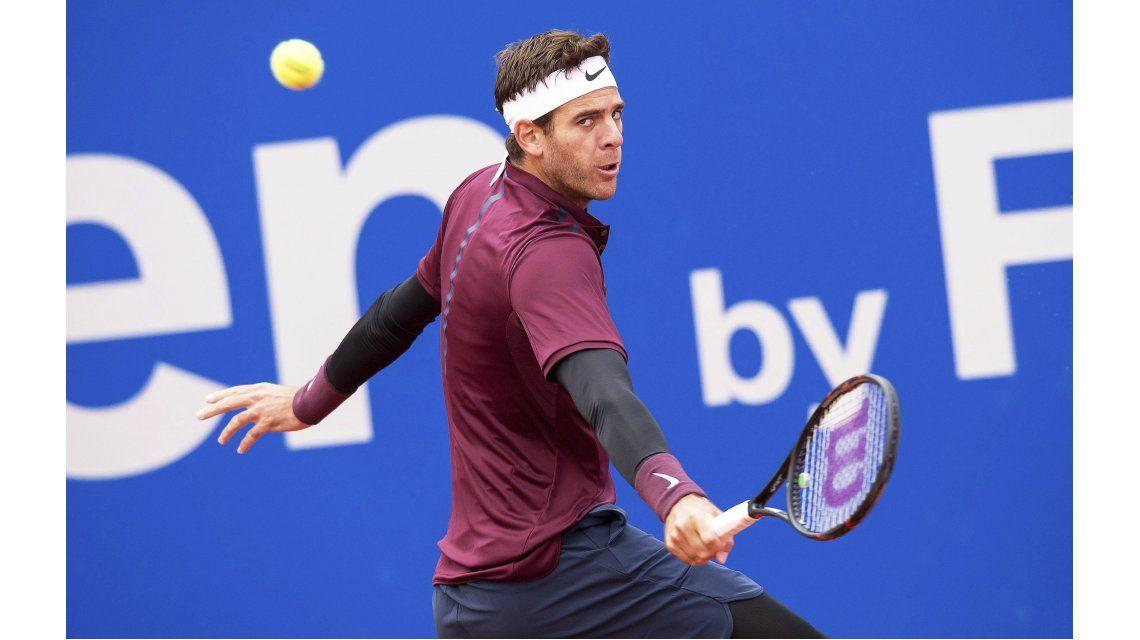 Un paso más: Del Potro volvió a ganar y está en cuartos del ATP de Munich