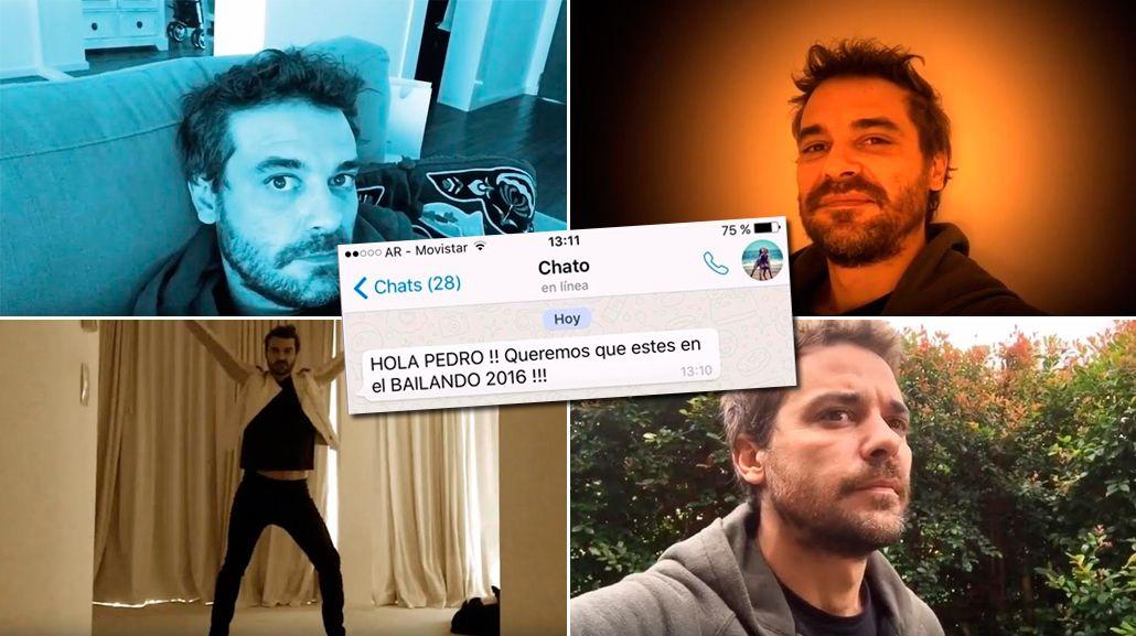 Video: así confirmó Pedro Alfonso su participación en el Bailando 2016