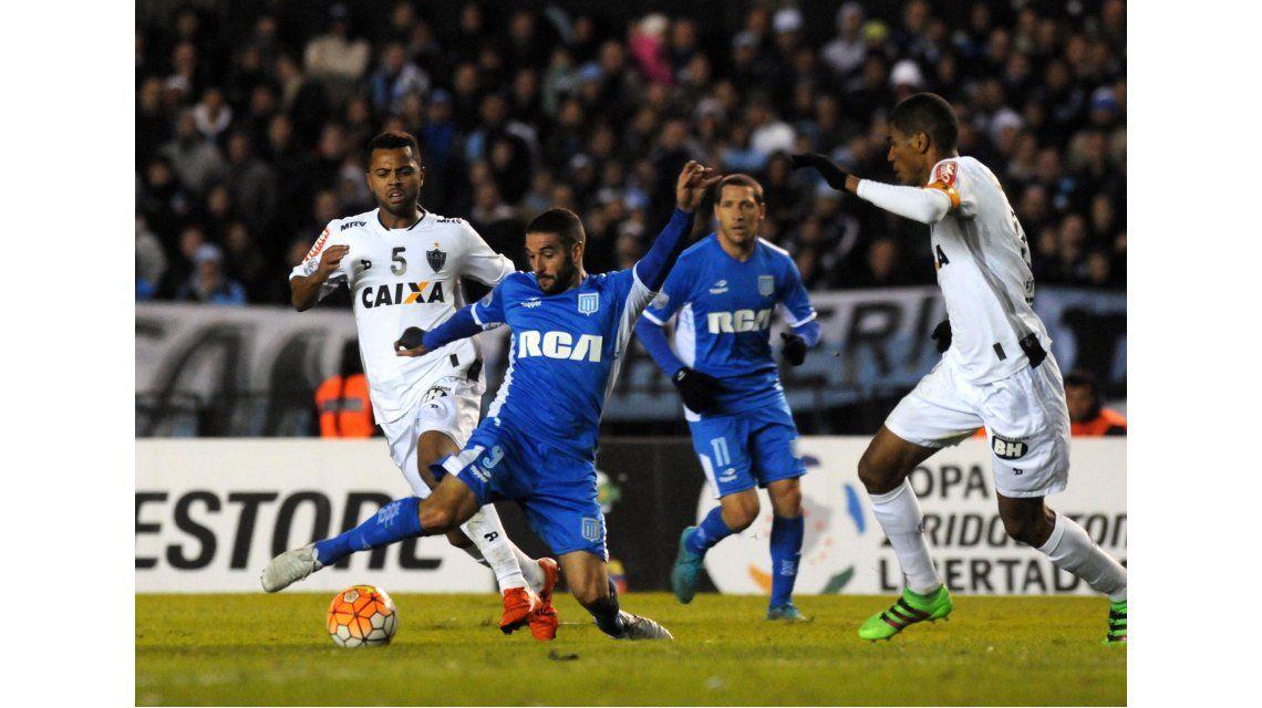 Las fotos del empate entre Racing y Atlético Mineiro