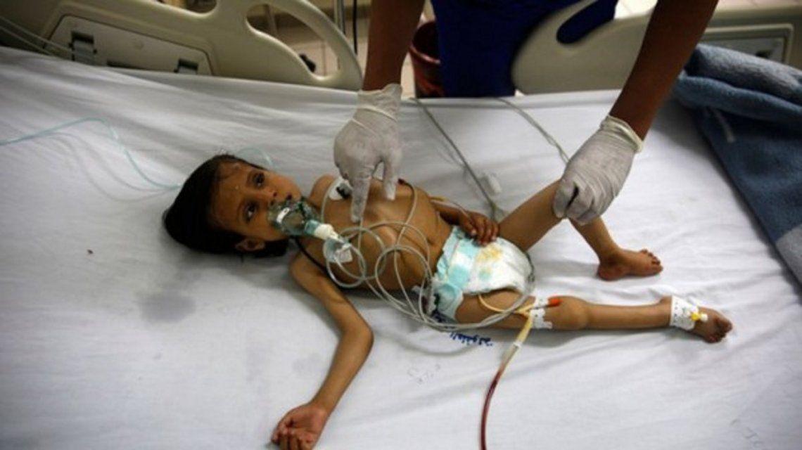 Udai Faisal, el doloroso emblema de un país en guerra olvidado por el mundo