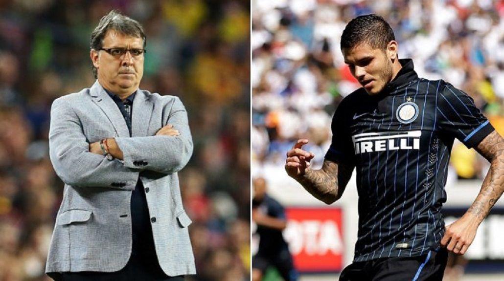 Martino se plantó ante Icardi: Lo juzgo estrictamente desde lo futbolístico