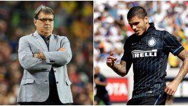 Martino se plantó ante Icardi: Lo juzgo desde lo futbolístico