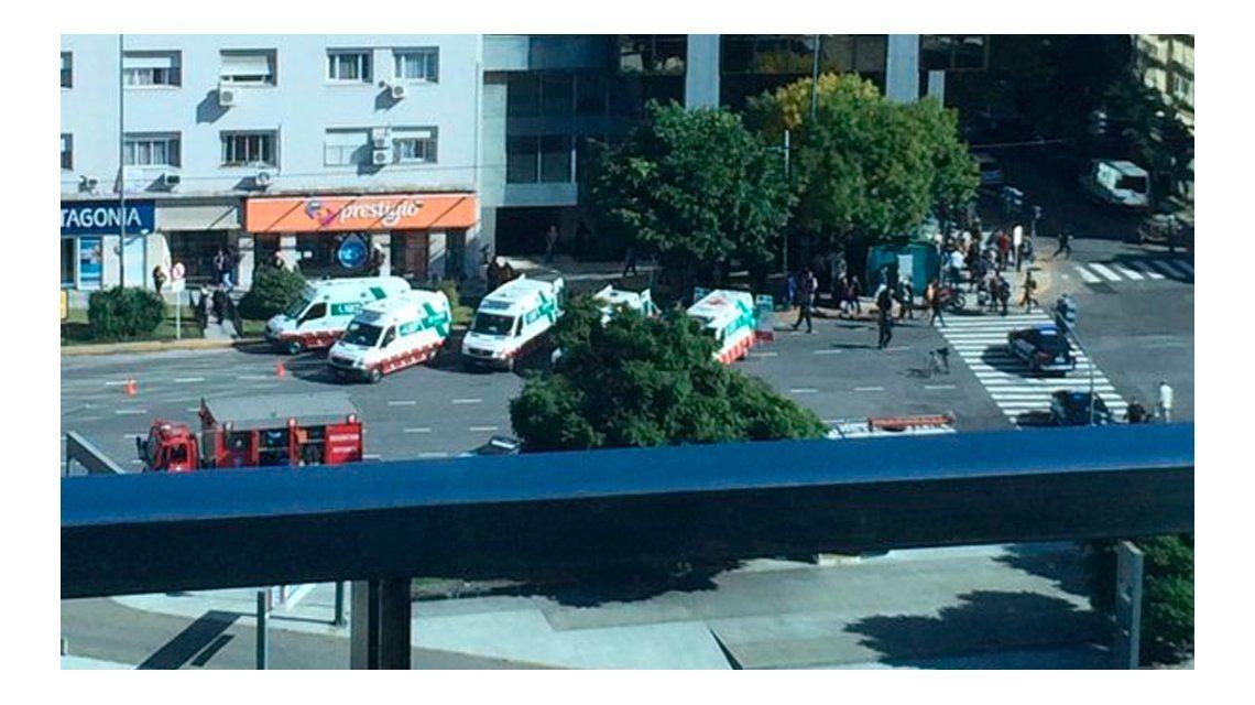 Escape de gas en venida 9 de Julio y Juncal: 15 internados